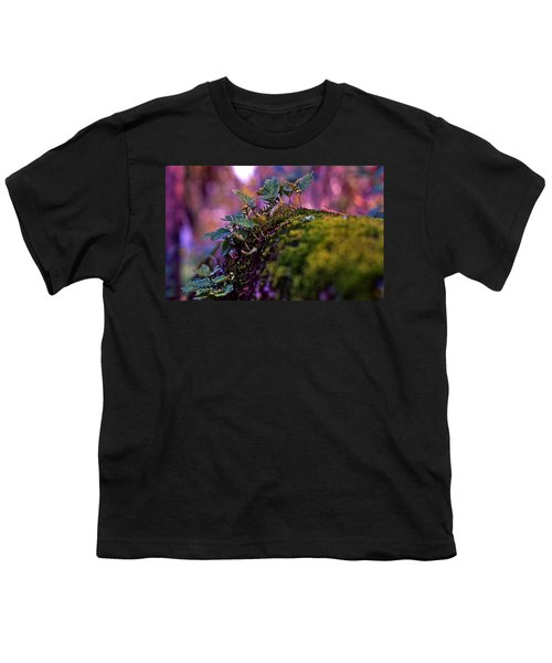 Leaves On A Log Youth T-Shirt