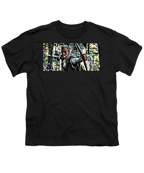 Legolas Youth T-Shirt by Florian Rodarte
