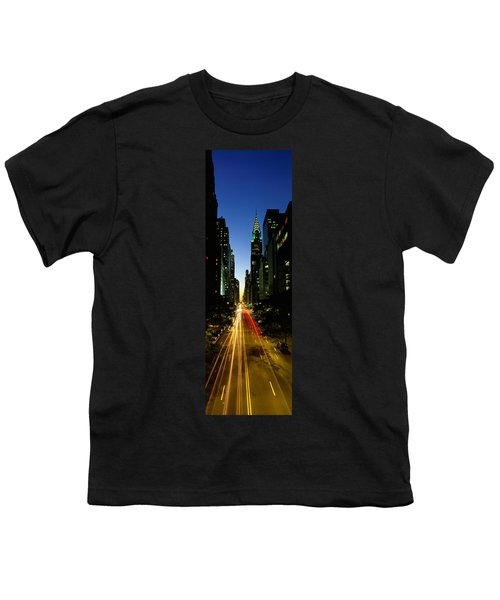 Lexington Avenue, Cityscape, Nyc, New Youth T-Shirt by Panoramic Images
