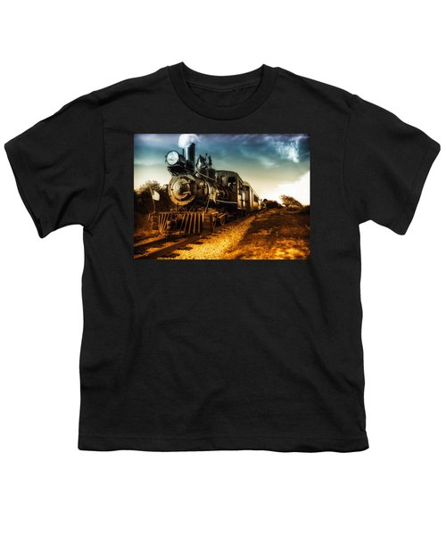 Locomotive Number 4 Youth T-Shirt