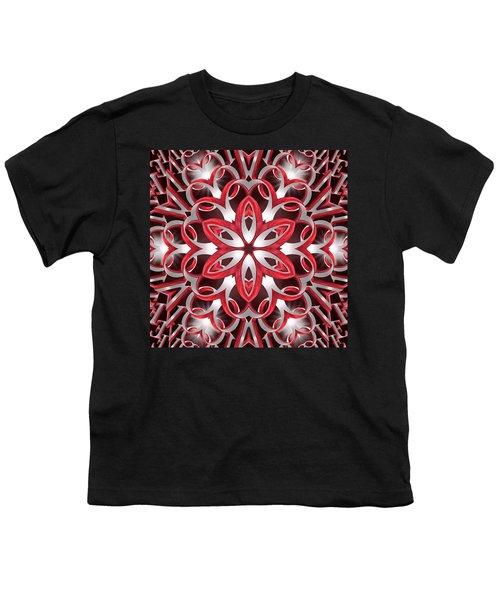 Love Blossoms Youth T-Shirt by Derek Gedney