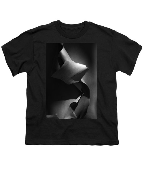 Madrona Bark Black And White Youth T-Shirt