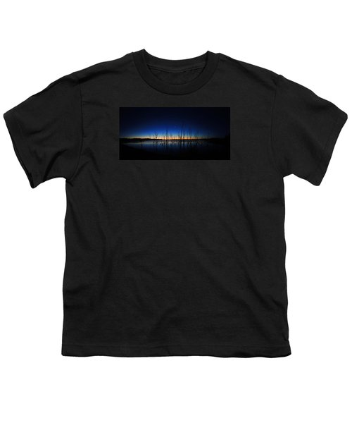Manasquan Reservoir At Dawn Youth T-Shirt