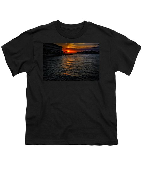 Youth T-Shirt featuring the photograph Marco Island Sunset 43 by Mark Myhaver