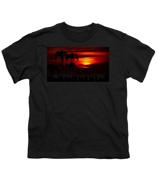 Youth T-Shirt featuring the photograph Marco Island Sunset 59 by Mark Myhaver