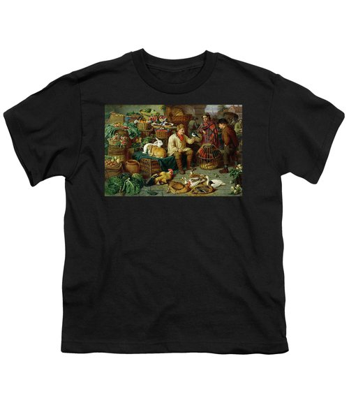 Market Scene Youth T-Shirt