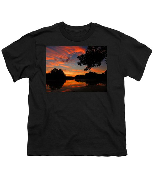 Marlu Lake At Sunset Youth T-Shirt