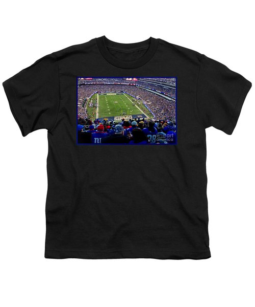 Youth T-Shirt featuring the photograph Metlife Stadium by Gary Keesler
