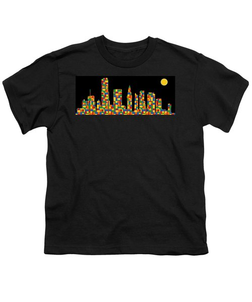 Miami Skyline 3 Youth T-Shirt