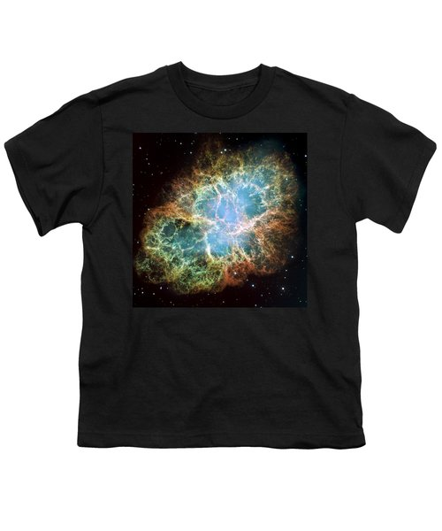 Most Detailed Image Of The Crab Nebula Youth T-Shirt by Adam Romanowicz