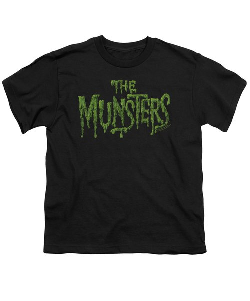 Munsters - Distress Logo Youth T-Shirt