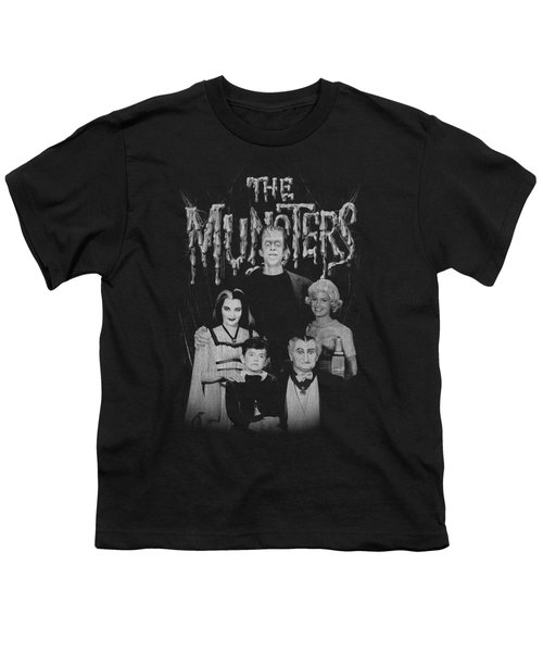 Munsters - Family Portrait Youth T-Shirt