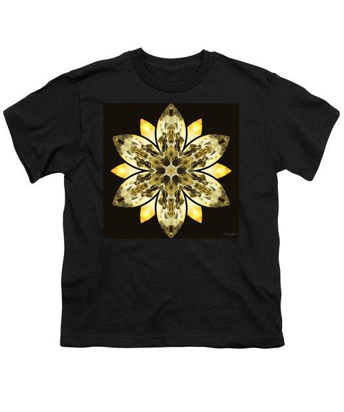 Nature's Mandala 57 Youth T-Shirt by Derek Gedney