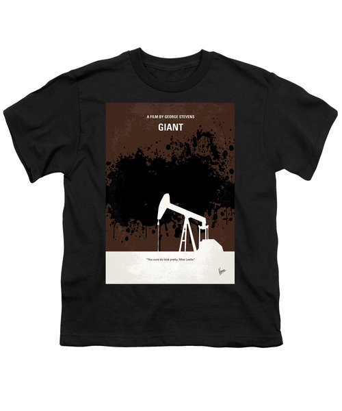 No102 My Giant Minimal Movie Poster Youth T-Shirt by Chungkong Art