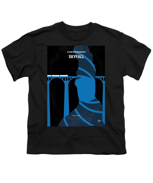 No277-007-2 My Skyfall Minimal Movie Poster Youth T-Shirt by Chungkong Art
