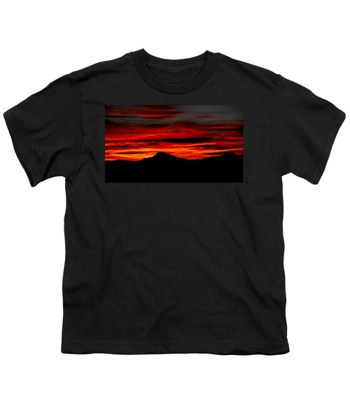 Youth T-Shirt featuring the photograph Painted Sky 45 by Mark Myhaver