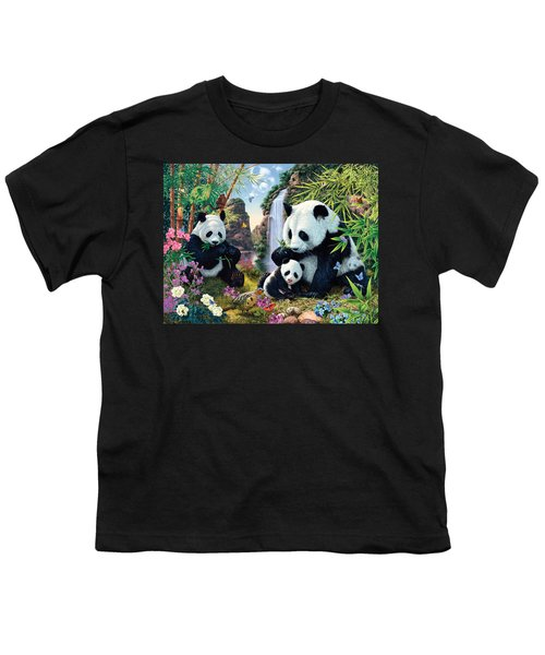 Panda Valley Youth T-Shirt