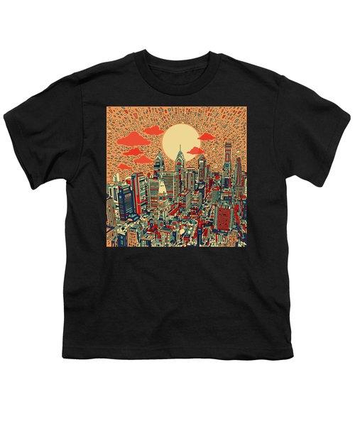 Philadelphia Dream Youth T-Shirt by Bekim Art