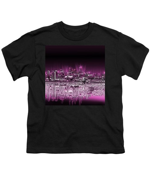 Philadelphia Skyline  Gradient 2 Youth T-Shirt