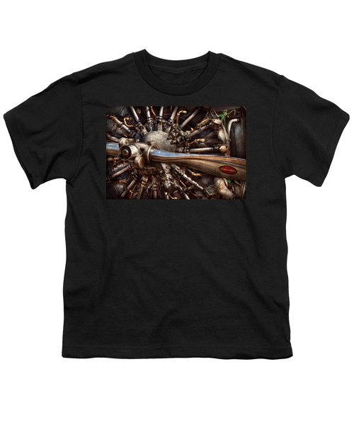Pilot - Plane - Engines At The Ready  Youth T-Shirt