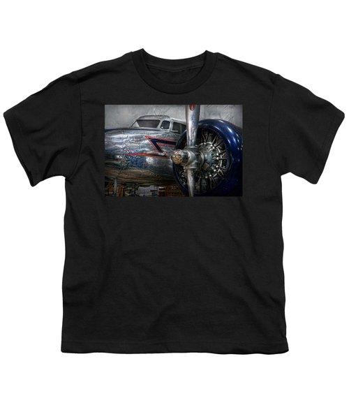 Plane - Hey Fly Boy  Youth T-Shirt