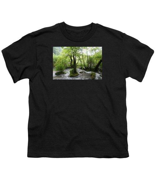 Plitvice Lakes Youth T-Shirt