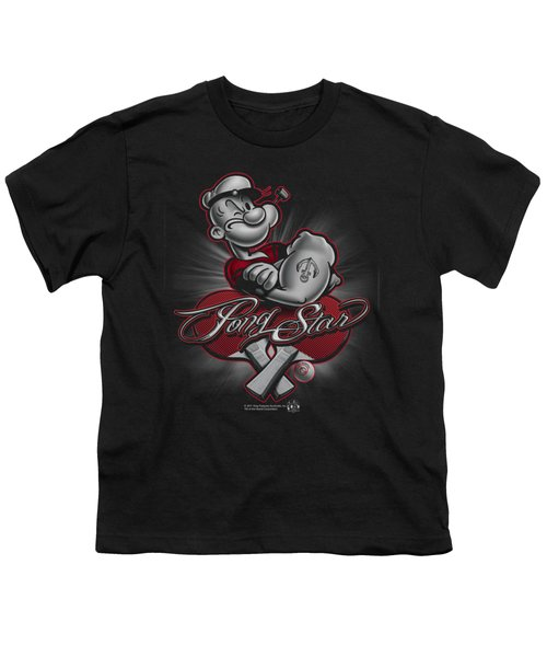 Popeye - Pong Star Youth T-Shirt