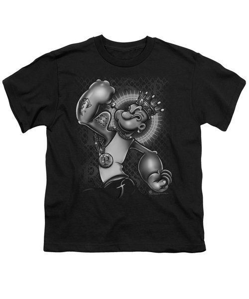 Popeye - Spinach King Youth T-Shirt