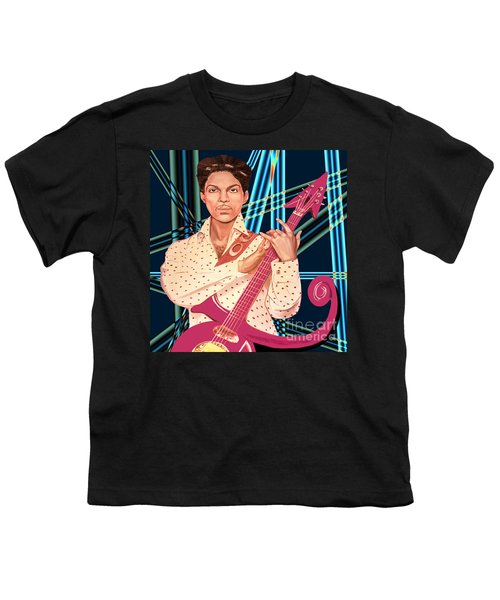 Youth T-Shirt featuring the photograph Prince Unpronounceable Symbol by Gary Keesler