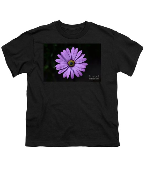 Purple African Daisy Youth T-Shirt
