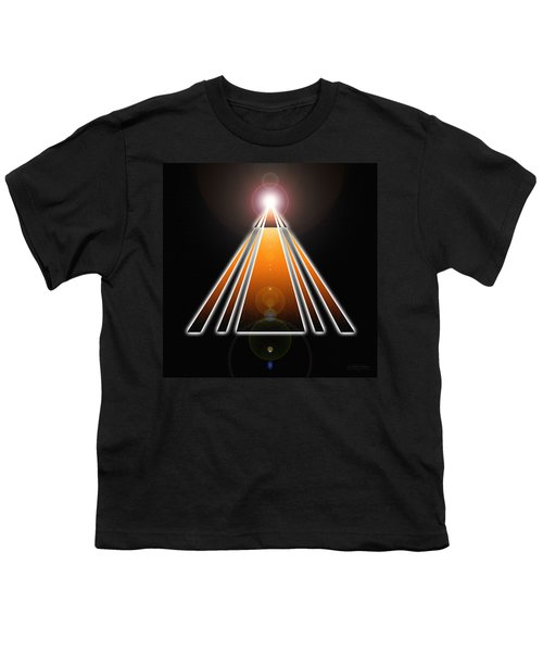 Pyramid Of Light Youth T-Shirt