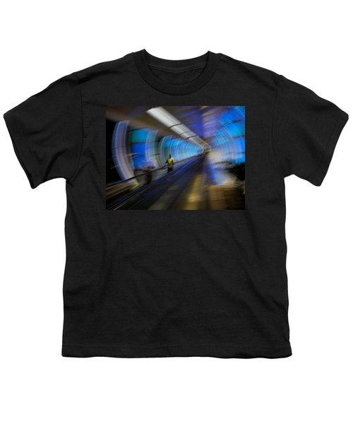 Youth T-Shirt featuring the photograph Quantum Tunneling by Alex Lapidus