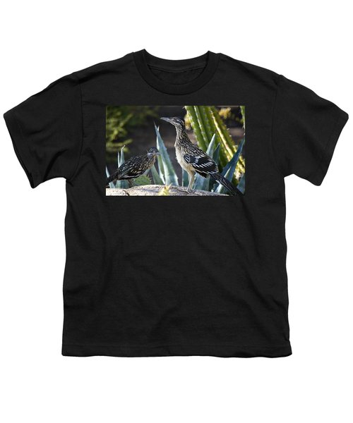 Roadrunners At Play  Youth T-Shirt