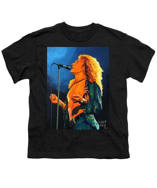 Robert Plant Youth T-Shirt by Paul Meijering