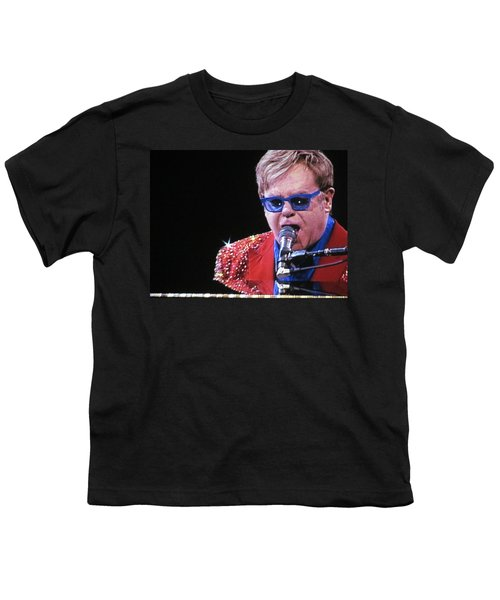 Rocket Man Youth T-Shirt by Aaron Martens