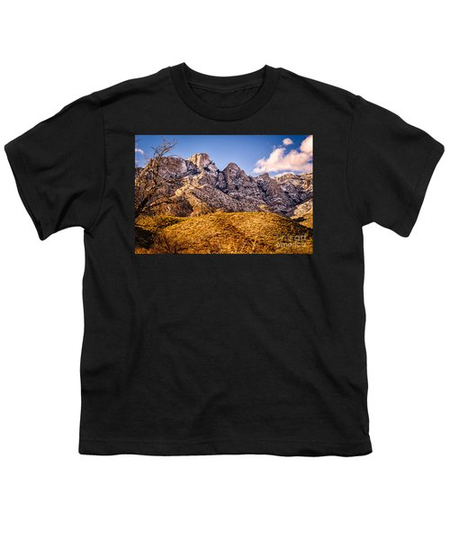 Youth T-Shirt featuring the photograph Rocky Peaks by Mark Myhaver