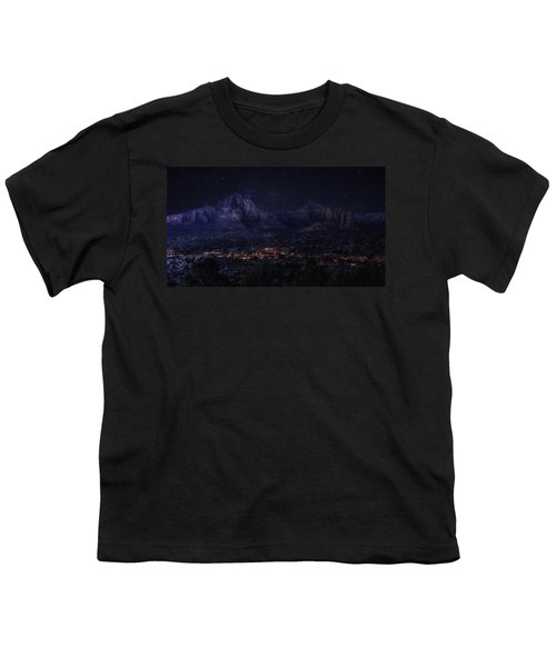 Sedona By Night Youth T-Shirt