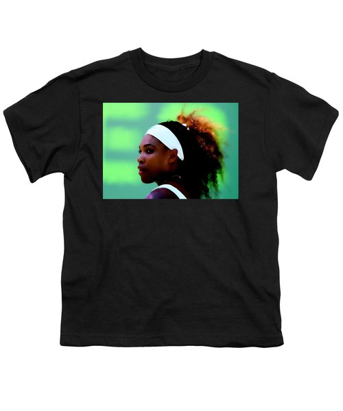 Serena Williams Match Point Youth T-Shirt