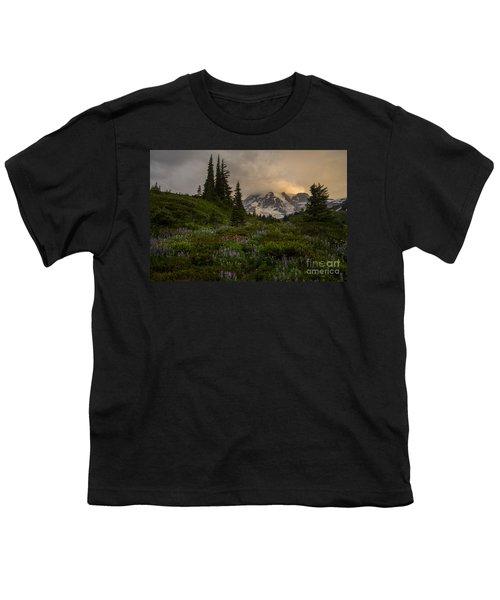Soft Spoken Rainier Meadows Youth T-Shirt