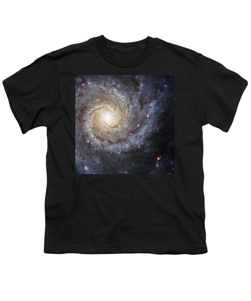 Spiral Galaxy M74 Youth T-Shirt