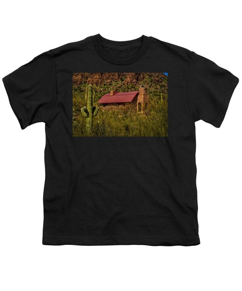 Youth T-Shirt featuring the photograph Spiritual Oasis by Mark Myhaver