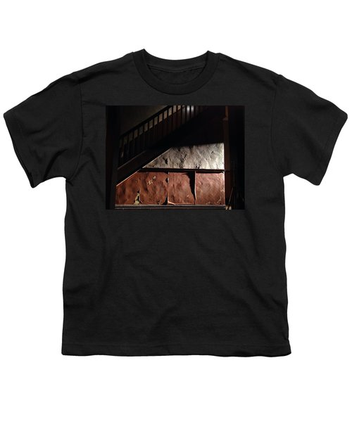 Stairwell Youth T-Shirt by H James Hoff