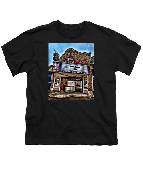 Stax Records Youth T-Shirt by Stephen Stookey