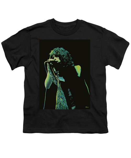 Steven Tyler 2 Youth T-Shirt by Paul Meijering