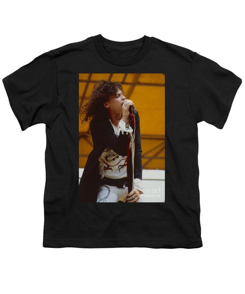 Steven Tyler Of Aerosmith At Monsters Of Rock In Oakland Ca Youth T-Shirt