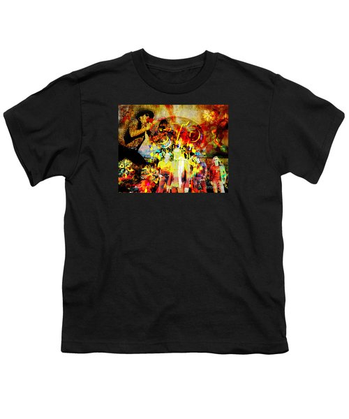Stone Temple Pilots Original  Youth T-Shirt by Ryan Rock Artist