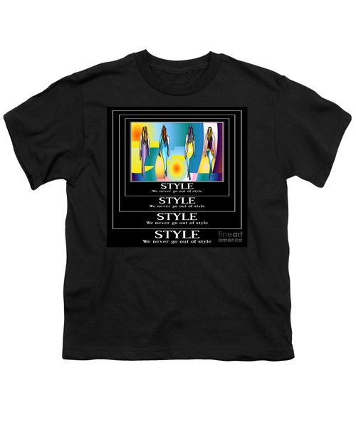 Style Youth T-Shirt by Kim Peto