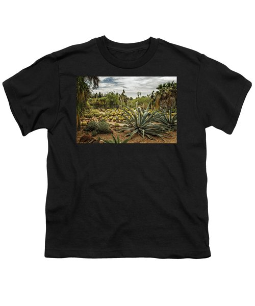 Succulents At Huntington Desert Garden No. 3 Youth T-Shirt