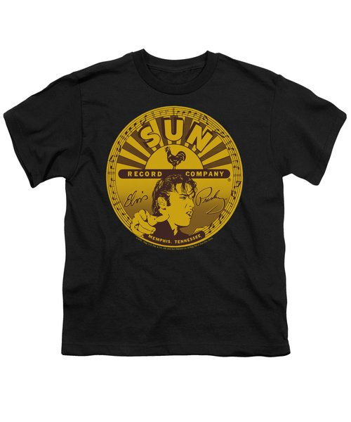 Sun - Elvis Full Sun Label Youth T-Shirt by Brand A