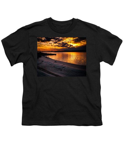 Sunset Over Little Assawoman Bay Youth T-Shirt